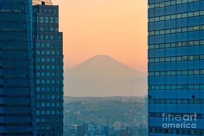 Fuji San Poster by Joerg Lingnau