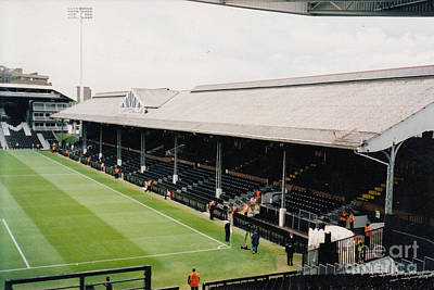 Fulham - Craven Cottage - East Stand Stevenage Road 4 - Leitch - July 2004 Poster by Legendary Football Grounds