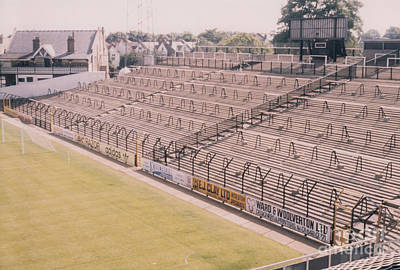 Fulham - Craven Cottage - South Stand 1 - August 1986 Poster by Legendary Football Grounds