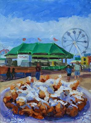 Funnel Cake  Poster by Billie Colson