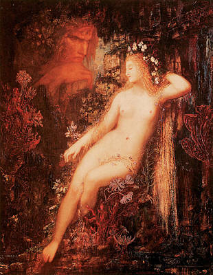 Galatea Poster by Gustave Moreau