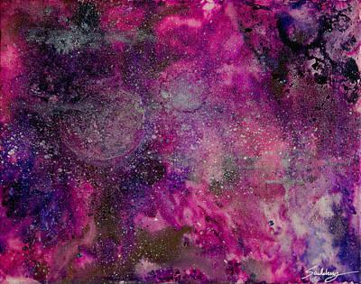 Galaxy No. 6 Poster by Heather Saulsbury