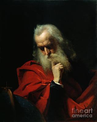 Galileo Galilei Poster by Ivan Petrovich Keler Viliandi
