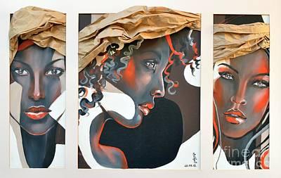 Ga.li.na. The Flame Poster by Gabriela Tasiro