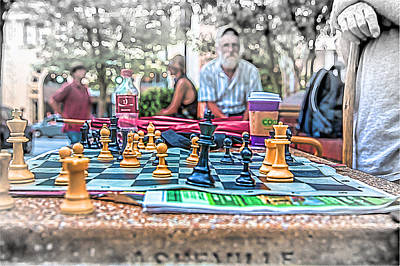 Game On Poster by John Haldane