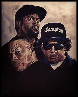 Gangsta Trinity Poster by Joel Tesch