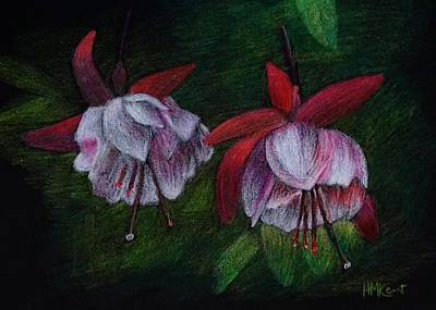 Garden Fantasia Poster by Heather M Kent