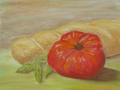 Garden Tomato Poster by Cheryl Albert