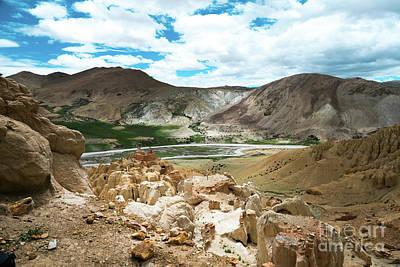Garuda Valley Tibet Yantra.lv Poster by Raimond Klavins