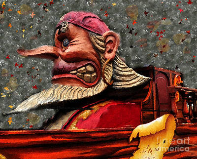 Gasparilla Float Poster by David Lee Thompson