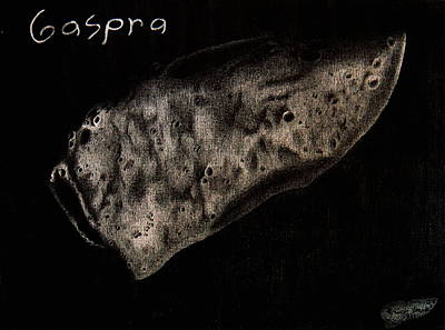 Gaspra Poster by Eric Hausel