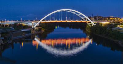 Gateway Bridge - Nashville Poster by Stephen Stookey