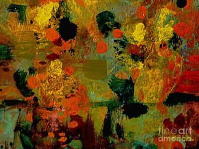 Gauguin Dreams Poster by Nancy Kane Chapman