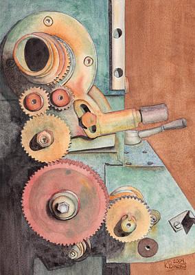Gears Poster by Ken Powers