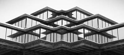 Geisel Library Poster by William Dunigan