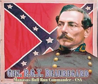 Gen. P.g.t. Beauregard Poster by Harry West