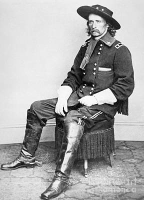 General George A Custer  Poster by Matthew Brady