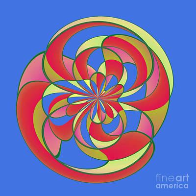 Geometric Distortion Poster by Gaspar Avila