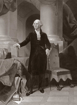 George Washington Poster by Peter Frederick Rothermel