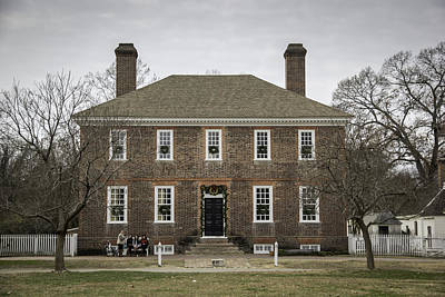 George Wythe House Williamsburg 2014 Poster by Teresa Mucha
