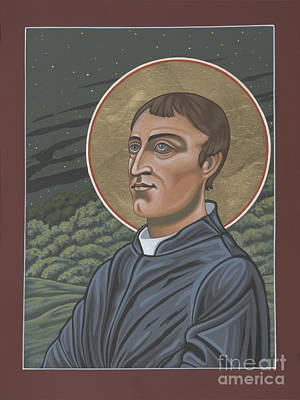 Gerard Manley Hopkins Amidst The Firefolk 215 Poster by William Hart McNichols