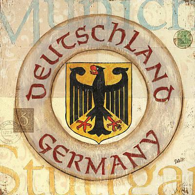 German Coat Of Arms Poster by Debbie DeWitt