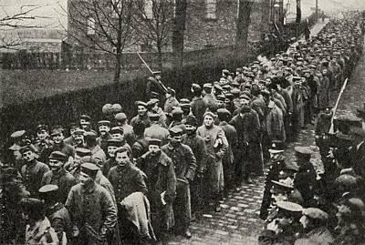 German Prisoners From Neuve Chapelle Poster by Vintage Design Pics