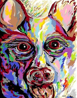 German Shepherd Poster by Eloise Schneider