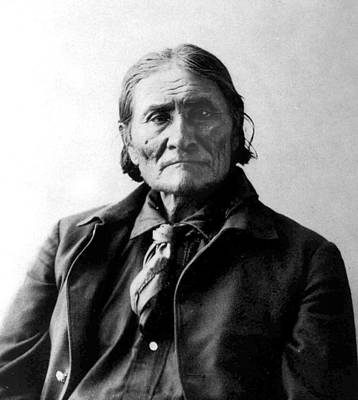 Geronimo Poster by Frank Rinehart