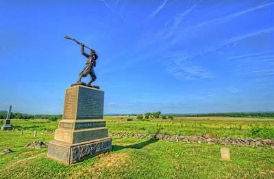 Gettysburg Battlefield Poster by Craig Fildes