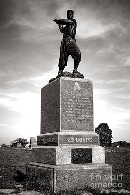 Gettysburg National Park 72nd Pennsylvania Infantry Monument Poster by Olivier Le Queinec