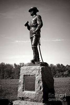 Gettysburg National Park Major General John Buford Monument Poster by Olivier Le Queinec