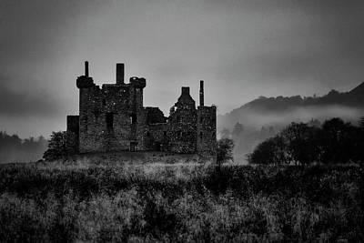 Ghost Of Kilchurn Poster by Guy Shultz