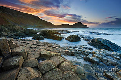 Giant's Causeway 1 Poster by Rod McLean