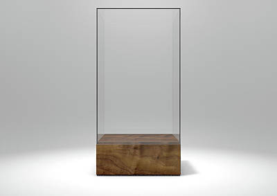 Glass Display Case Poster by Allan Swart