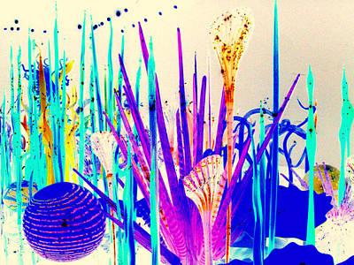 Glass Garden Poster by Maro Kentros