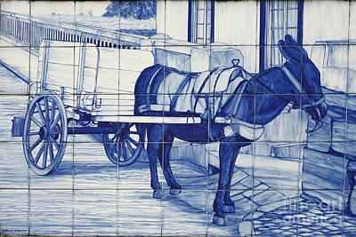 Glazed Tiles Poster by Gaspar Avila