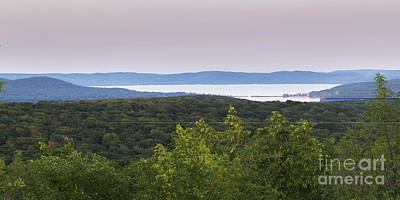 Glen Lake From Sleeping Bear Dunes Poster by Twenty Two North Photography