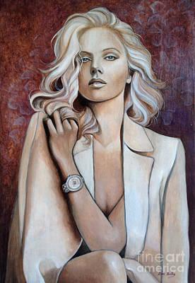 Goddess Poster by Dori Hartley
