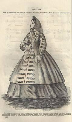 Godey 1865 - The Ebro Poster by Karen Szatkowski