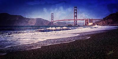 Golden Gate Poster by Everet Regal