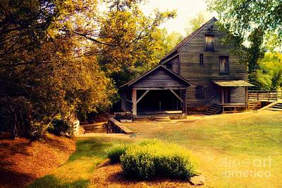 Golden Morning At Yates Mill Poster by Mylinda Revell