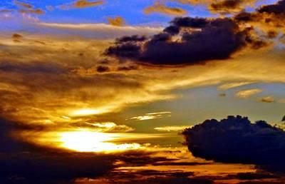 Golden Sunset Poster by Patrick Mansen