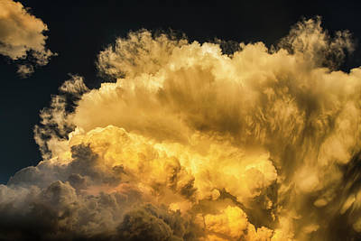 Golden Thunderhead Poster by James BO Insogna