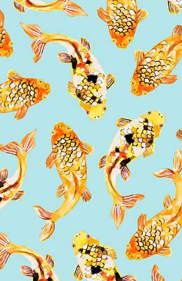 Goldfish Poster by Uma Gokhale