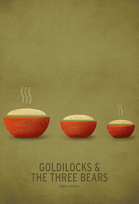 Goldilocks And The Three Bears Poster by Christian Jackson