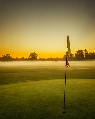 Golf Dreams Poster by Chris Bordeleau