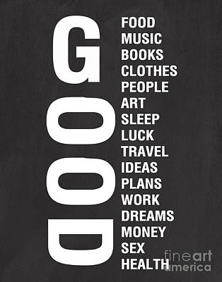 Good Things Poster by Linda Woods