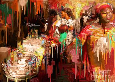 Good Woman  Poster by Kegya Art Gallery