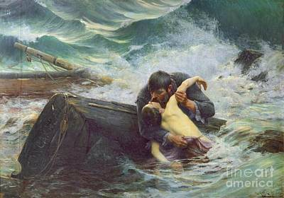 Goodbye  Poster by Alfred Guillou